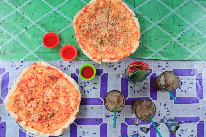 Pesanan Pizza Kami