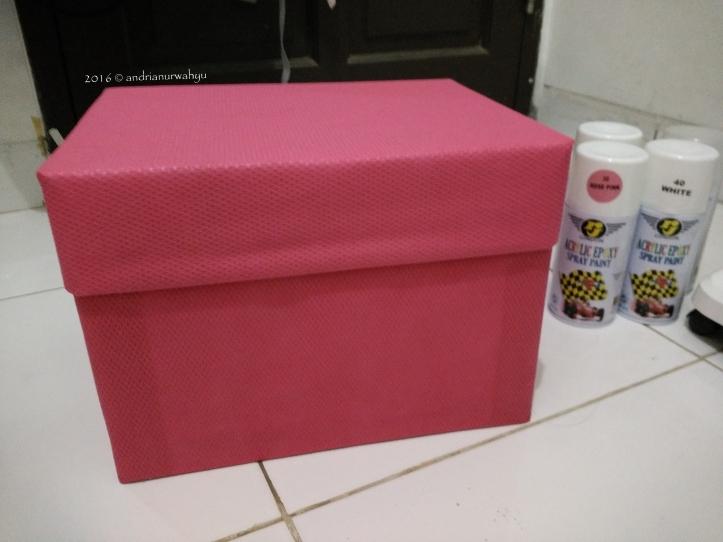 Membuat Box Serbaguna Menjadi Cantik dalam 30 menit